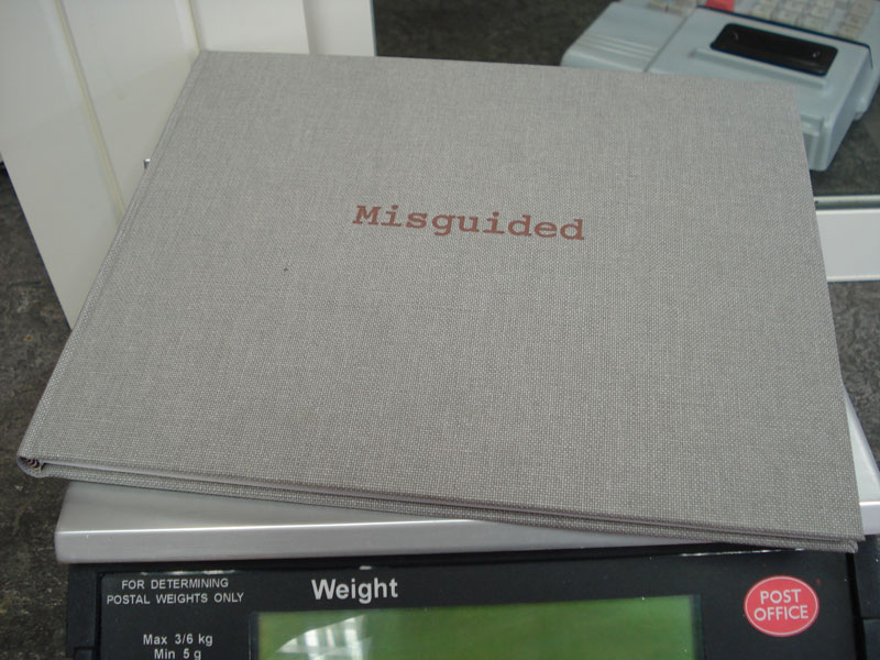 Julia Riddiough, 'Misguided', 2010, Printed paper and bound book, 22x26cm