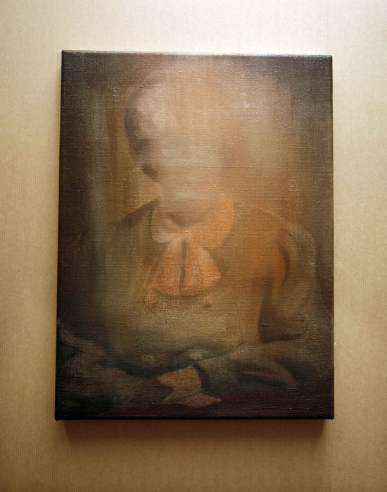 Tom Gidley, 'The Postmistress', 2010, Oil on linen, 40x30cm