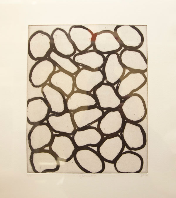 Sam Hodge, Organisation, 2009, Etching and aquatint on paper